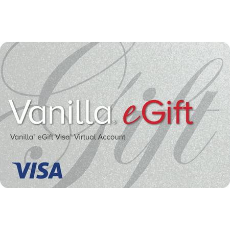 $50 Vanilla eGift Visa® Virtual Account (email