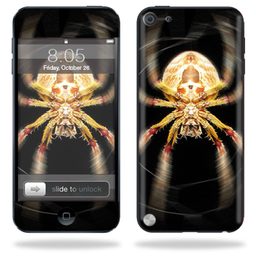 Mightyskins Protective Skin Decal Cover for Apple iPod Touch 5G (5th generation) MP3 Player wrap sticker skins Web