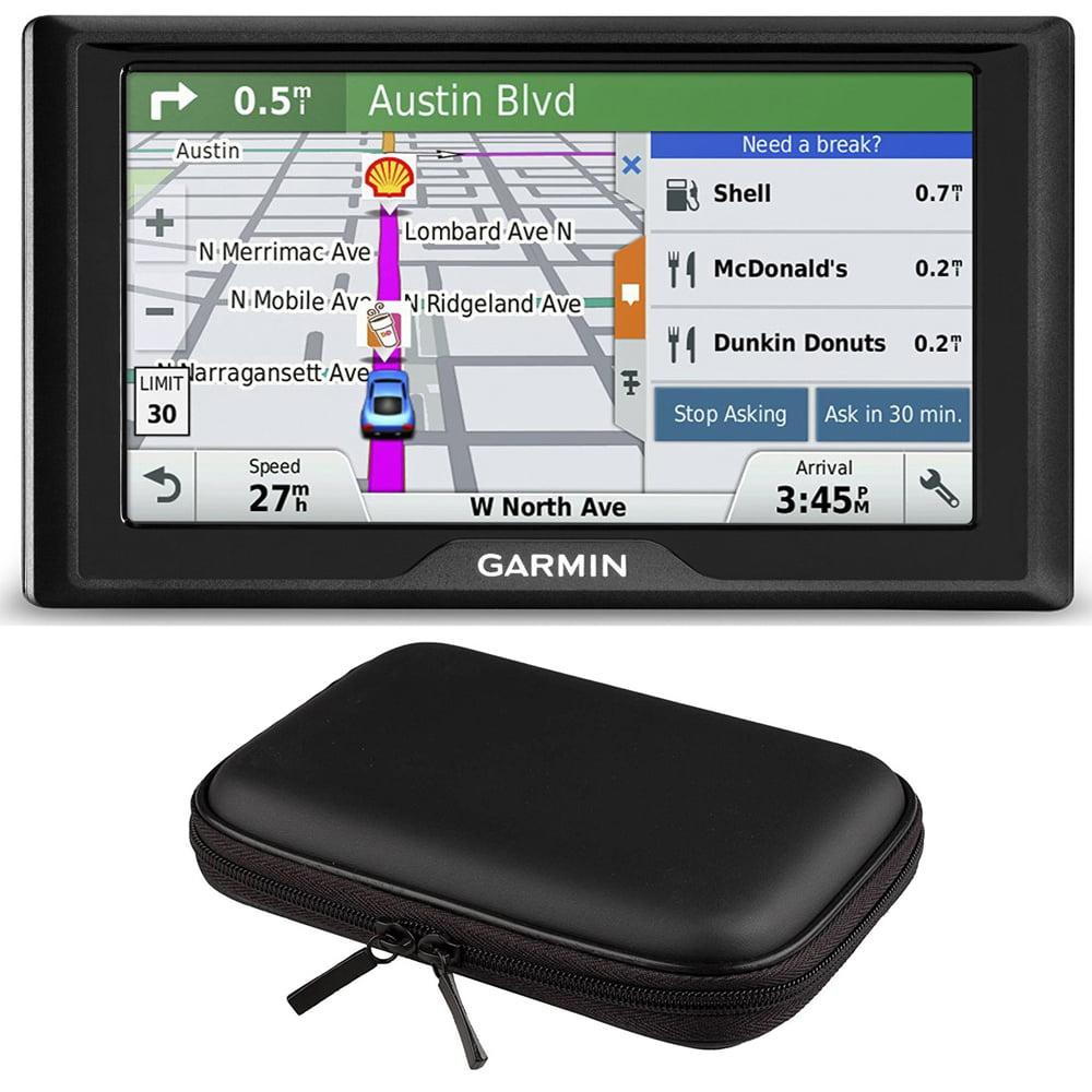 Garmin Drive 60LM GPS Navigator (US) 010-01533-0C Hardshell Case Bundle includes GPS and PocketPro XL Hardshell Case