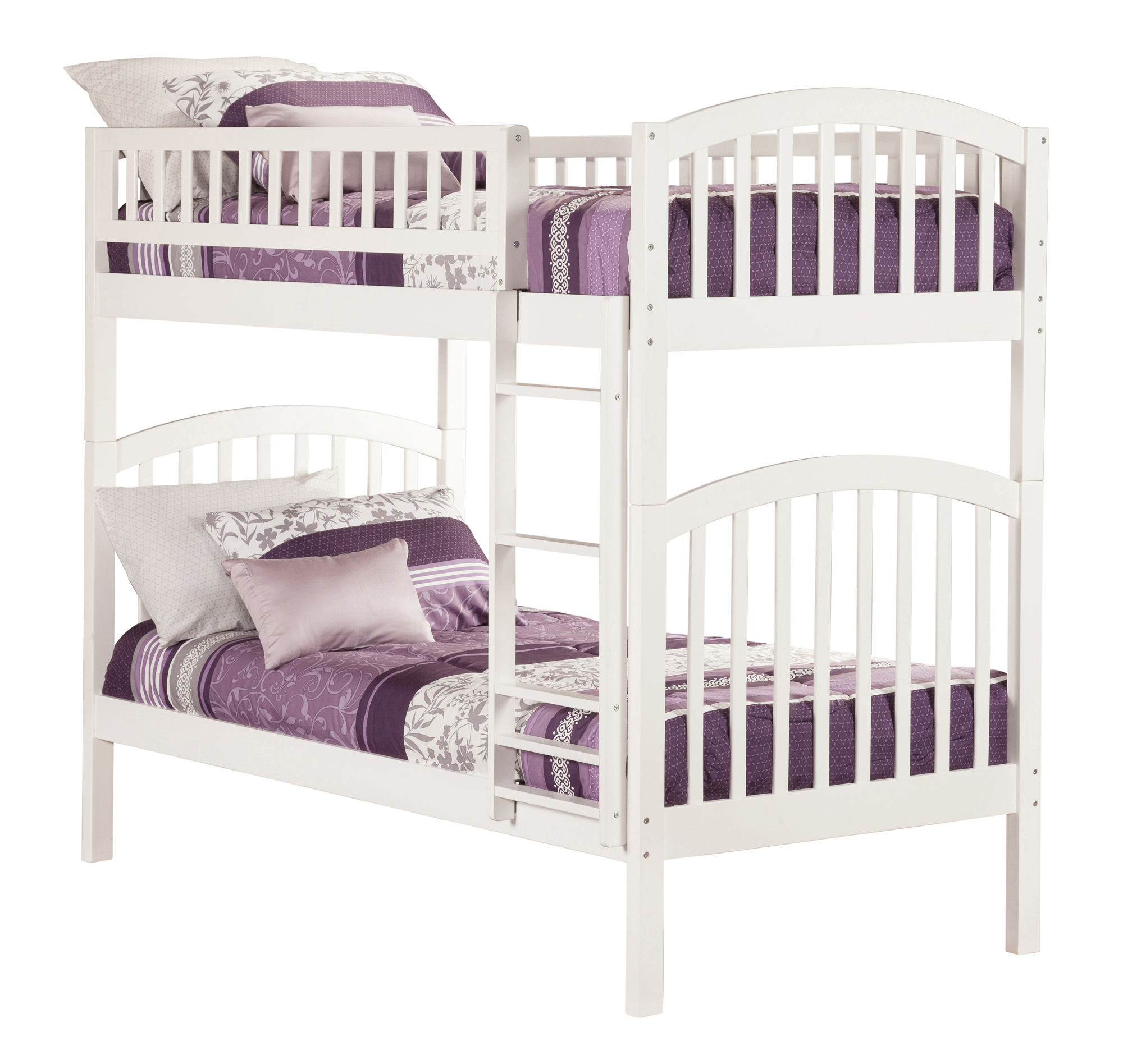 Richland Bunk Bed Twin over Twin in Multiple Colors and Configurations