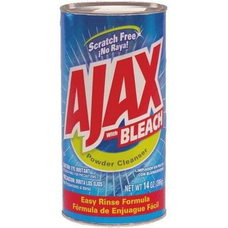 Ajax Powder Cleanser With Bleach 14 oz (Pack of 4)