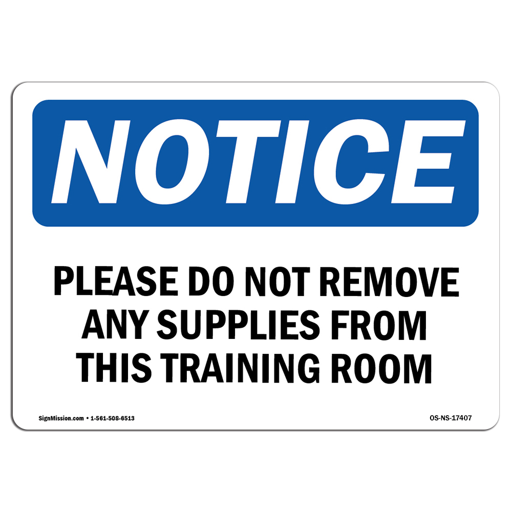 Trained Authorized Personnel Only Do Not Enter SignHeavy Duty OSHA Notice