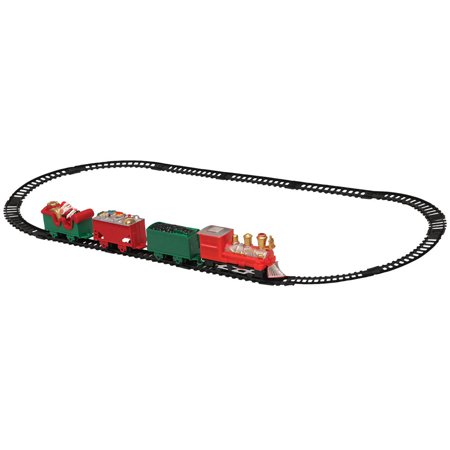 Holiday Train In A Collectors Christmas Tin - 12 Pc Track Included - Ages 8+ (Train Collectors)