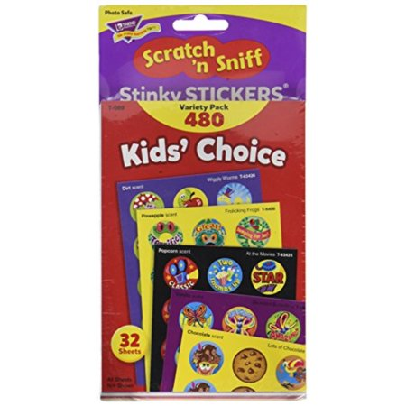 Kids Choice Variety Pack - Kids' Choice Stinky Stickers Variety Pack
