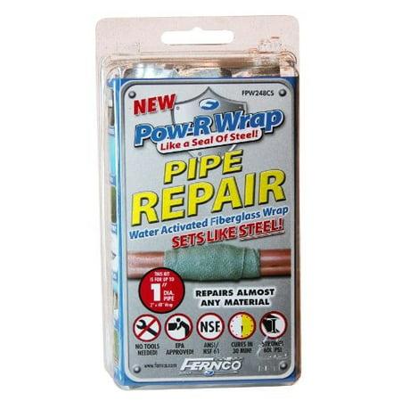 Fernco Inc. FPW248CS 1-Inch Pow-R Wrap Pipe - Electric Pipe Wrap