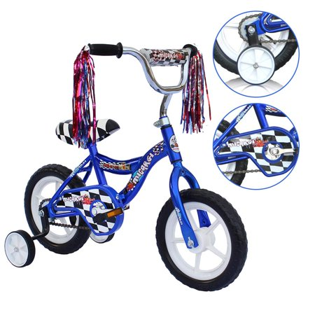 ChromeWheels Boys' and Girls' Bike, 12