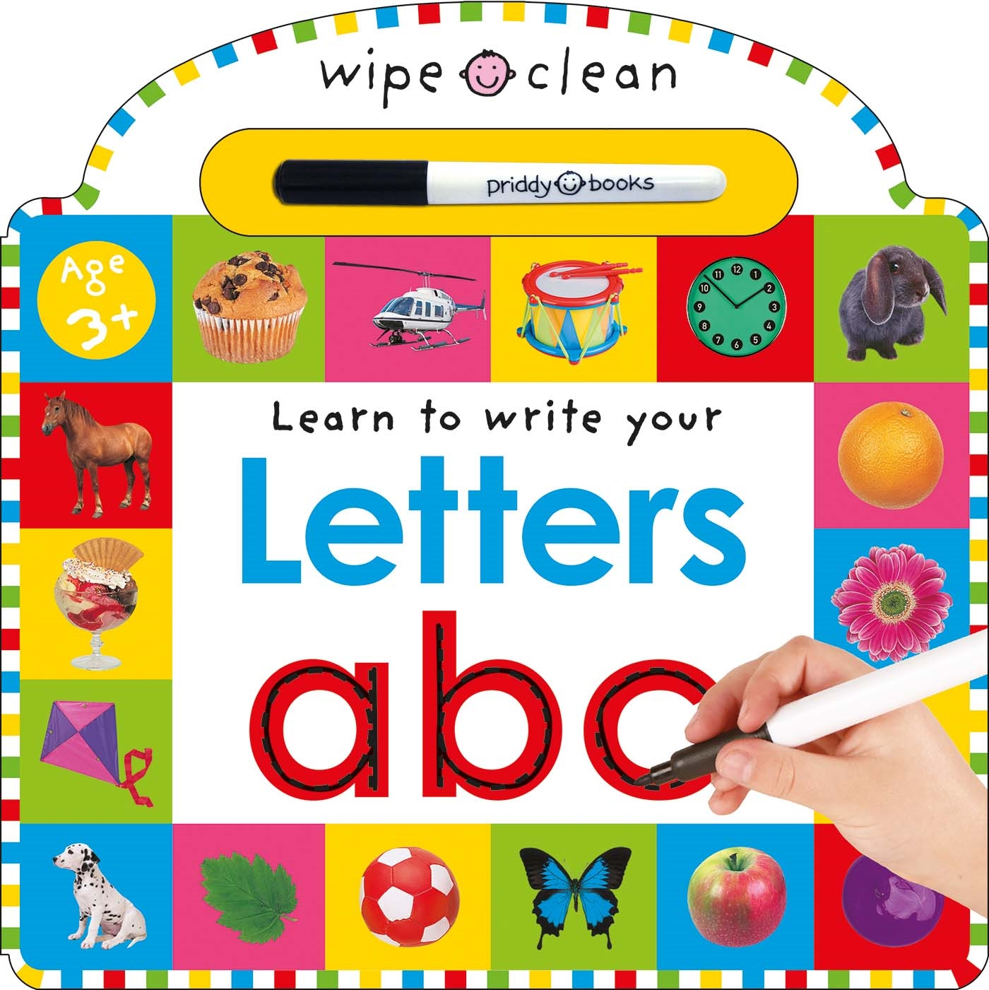 Learn to Write Your Letters (Board Book)