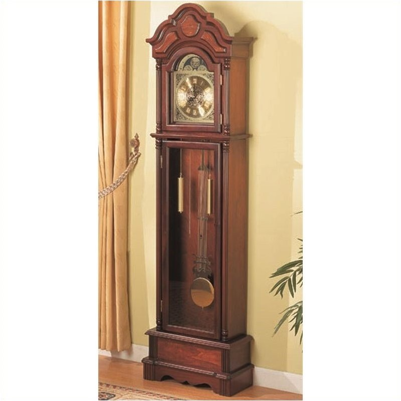 Bowery Hill Grandfather Clock in Oak by Bowery Hill