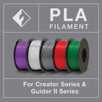 FLASHFORGE PLA FILAMENT - BLACK COLOR - 1.75 MM 1 KG Spool