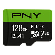 Elite-X Class 10 U3 microSD Flash Memory Card, 64-256GB