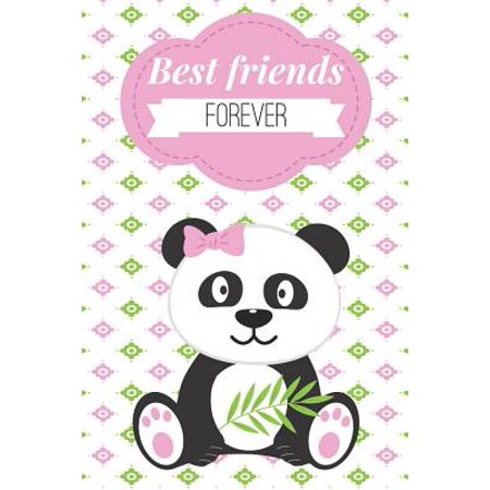 Best Friends Forever: Panda Friendship Gift - Cute Journal for Girls Birthday, Christmas for Teens, Elementary Students, Young Women Adults (Best Razor For Young Girls)