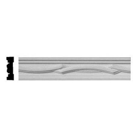 1.88 in. H x .50 in. P x 96 in. L Cole Chair Rail ()