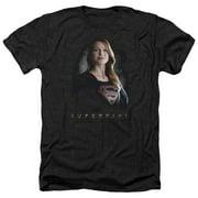 Supergirl Stand Tall Mens Heather Shirt