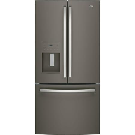 GE Appliances GFE24JMKES Slate Series 33 Inch French Door Refrigerator Slate 800 Series Refrigerator