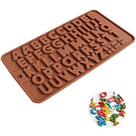 Roofei Silicone Mold DIY 26 English Alphabet Silicone Chocolate Molds Cake Mould Baking Tools Gummy Molds Silicone - Candy Mold - image 8 of 8