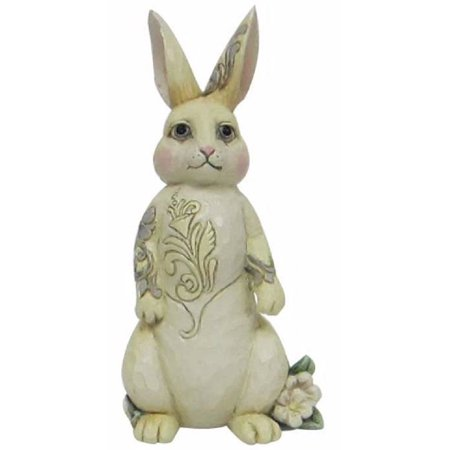 Jim Shore Heartwood Creek Bunny Beauty White Woodland Rabbit Figurine 4056969