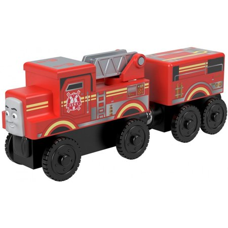 - Thomas & Friends Wood Flynn Wooden Red Fire Engine Train