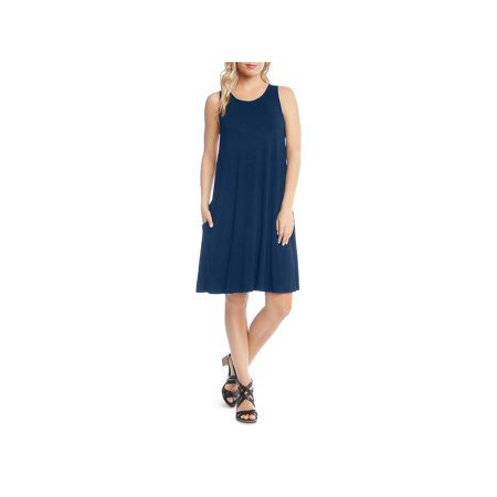 Karen Kane Womens Chole A-line Knee-Length Tank Dress