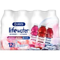 Sobe Lifewater Variety Pack Nutrient Enhanced Hydration Beverage, 20 fl oz, 12 count