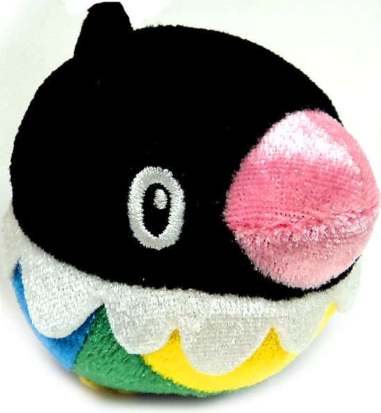 Pokemon Chibi Plush Chibi Chatot Plush Bath Toy [Japanese]