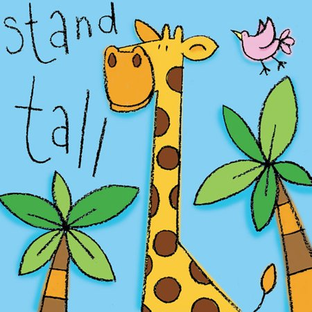 Stand Tall   Giraffe Wall Art