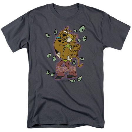Scooby Doo Being Watched Mens Short Sleeve - Scooby Doo Shirts For Adults