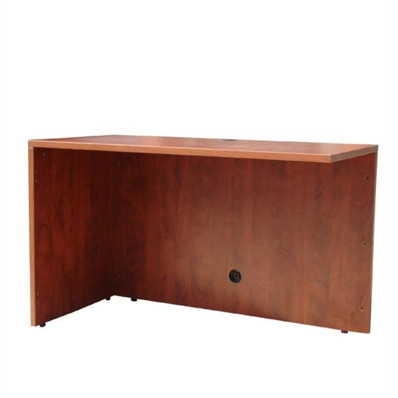 "Boss Office Products 36"" Return-Mahogany"