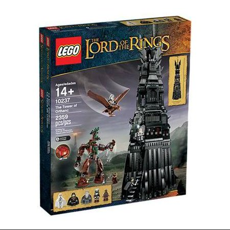 Lego The Lord Of The Rings  The Tower Of Orthanc Play Set