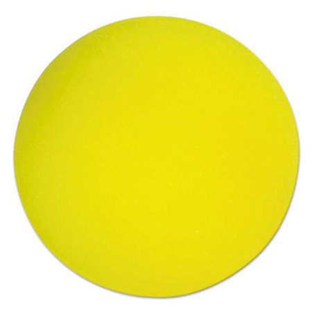 "Champion Sports RD7 Uncoated Regular-density Foam Balls, 7"" Diameter, Yellow"