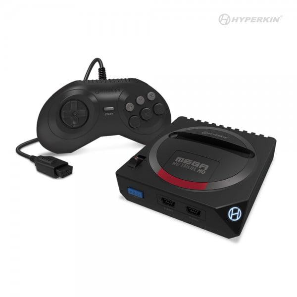 Hyperkin, MegaRetroN HD Gaming Console for Genesis/Mega Drive, Black, M07312