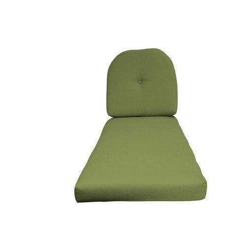 Fiberbuilt Outdoor Chaise Lounge Cushion