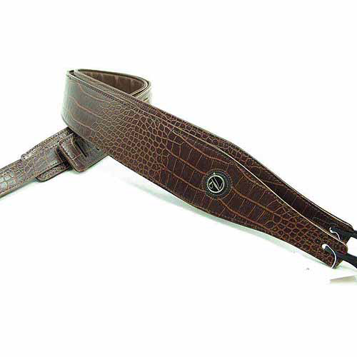 Vorson Textured Leather Padded Guitar Strap