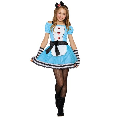 Miss Wonderland Tween Costume](Miss Wonderland Costume)