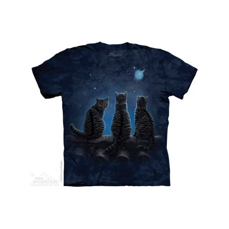 The Mountain Wish Upon A Star Adult T-Shirt Tee