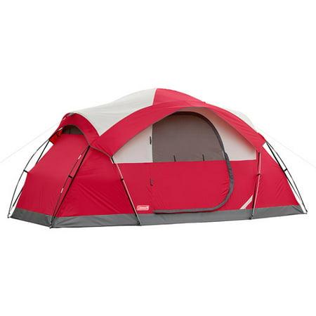 Coleman Cimmaron 8 Person Modified Dome Tent Walmart Com