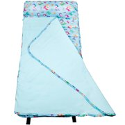 Wildkin Mermaids Blue Easy Clean Nap Mat for Boys and Girls
