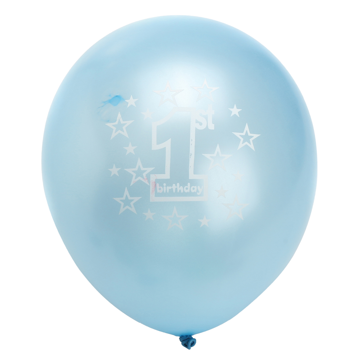 """11/"""" Latex Printed Infant Baby Kids 1st Birthday Party Pearlised 10pcs Balloons"""