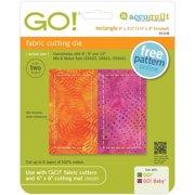 "GO! Fabric Cutting Dies-Rectangle 1-1/2""X3"""