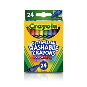 Crayola 24 Count Ultra Clean Washable Crayons