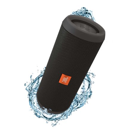 JBL Flip 3 Black Open Box Splashproof Bluetooth Speaker