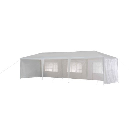 Sunjoy 10 Ft W X 30 Ft D Metal Party Tent Walmart Com Walmart Com