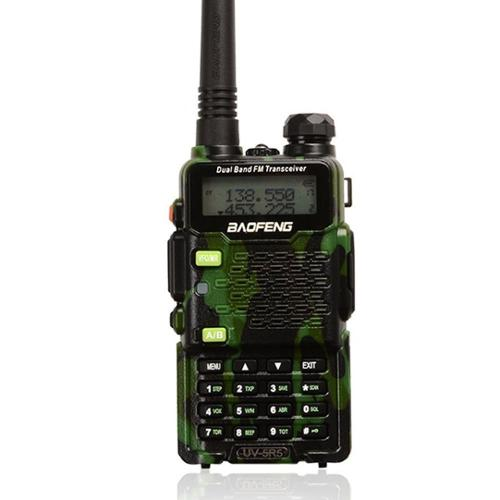 BaoFeng UV-5R5 Dual-Band Two-Way Radio Transceiver UHF/VHF Bundle with Earpiece, Built-in VOX Function