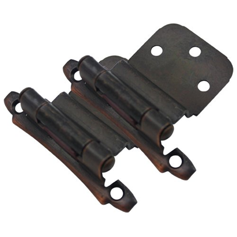"Cosmas 17928-ORB Oil Rubbed Bronze Cabinet Hinge 3/8"" Inset (Pair) [17928-ORB]"