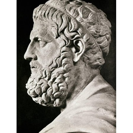 Sculpture of Sophocles Print Wall Art