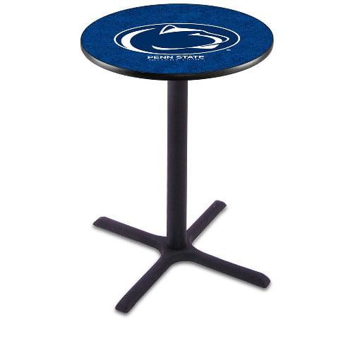 NCAA Pub Table by Holland Bar Stool, Black - Penn State University, 42'' - L211
