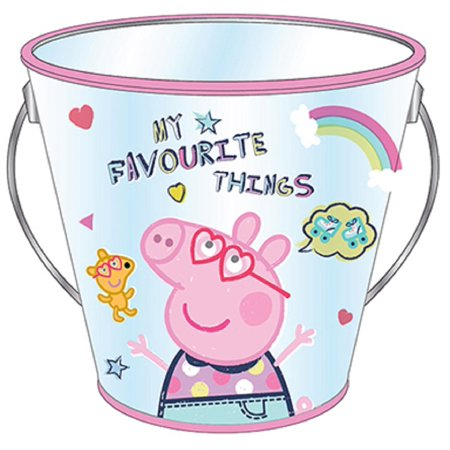 Party Favor Cup - Peppa Pig - Collectible Plastic Pail - Favorite Things - Thing 1 And Thing 2 Birthday Party