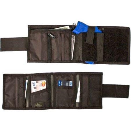 Elite Belt Holster (Elite Survival Systems Hide-away Ankle Wallet with Holster, Black )