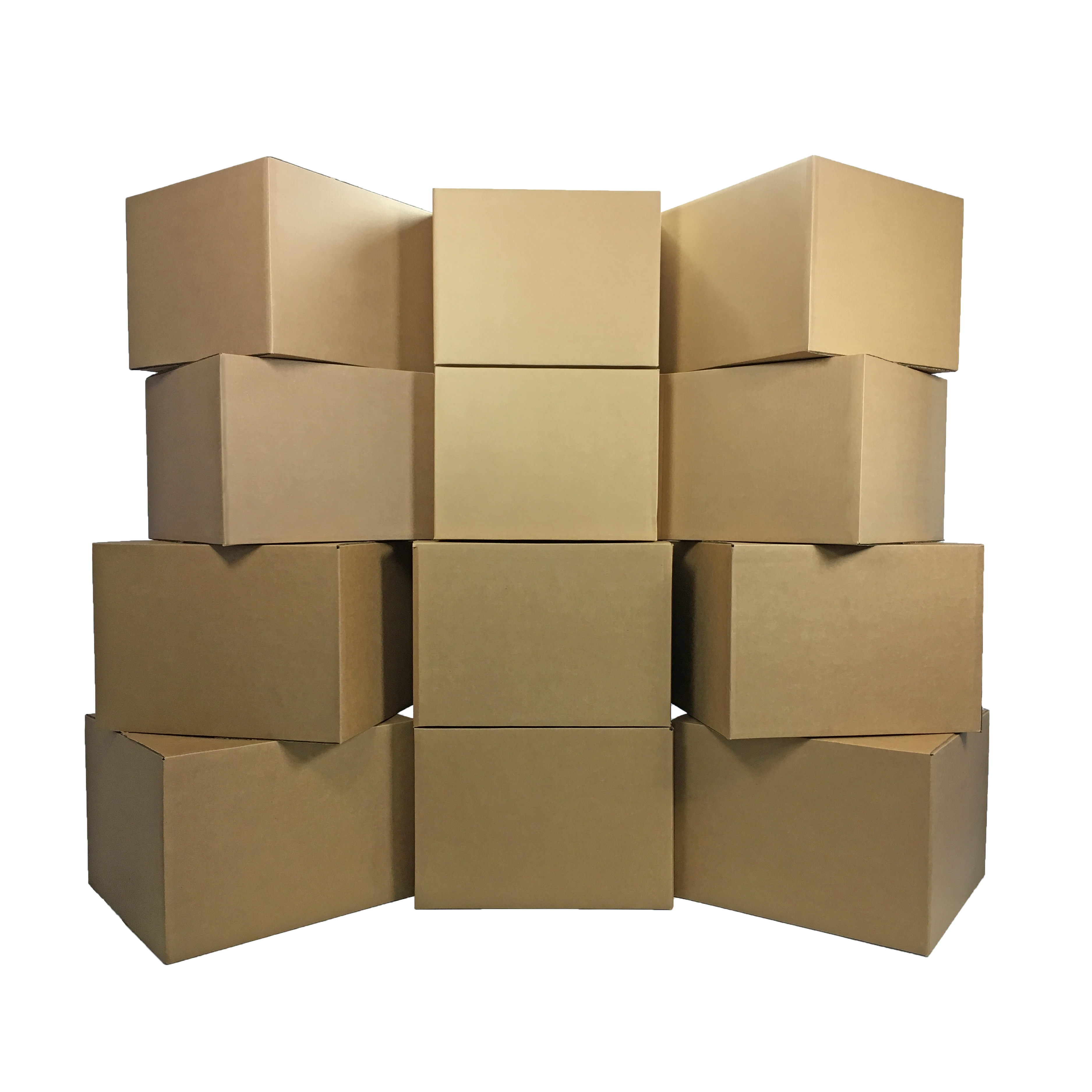 Uboxes Large Moving Boxes, 20x20x15in, 12 Pack, Cardboard Boxes