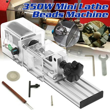 350W Mini polishingtool Lathe Beads Machine Woodworking Grinding Cutting Drill Rotary Tool