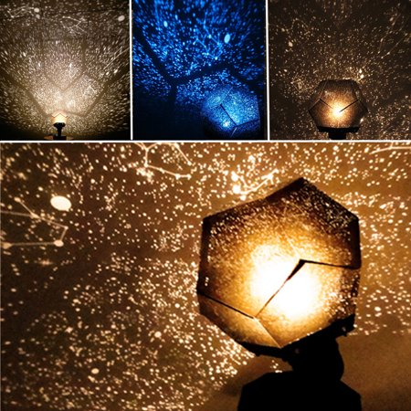 3 Colors Astro Star Sky Laser Projector Cosmos Celestial Baby Sleeping Night Light Lamp Gift Home Bedroom Room Decor